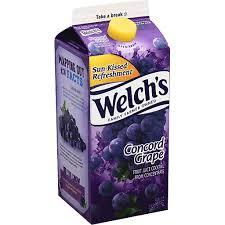 welchs fruit juice l concord