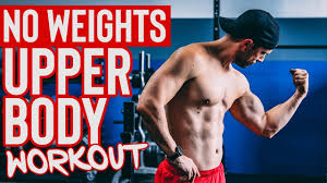 upper body workout with no weights