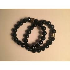 zowee onyx beaded bracelet bracelets at