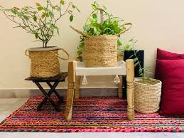 eco friendly pure jute planters with