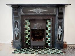faux marble fireplace traditional painter