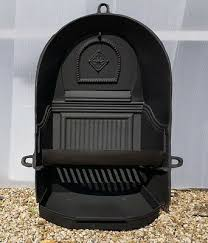cast iron fire back grate for arch