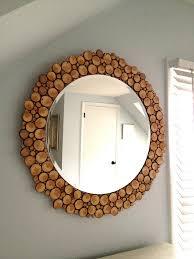 simple handmade mirror decorations