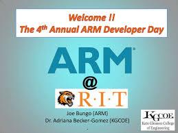 4th ARM Developer Day Presentation