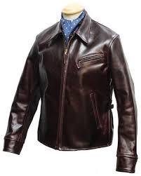 aero halfbelt vintage leather jackets