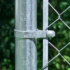Blue Hawk Gray Metal Fence Tension Bar Chain Link Fence In The Fence Hardware Department At Lowes Com
