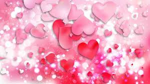 light pink love background ilration