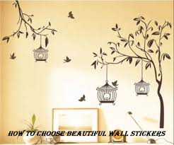 Wall Stickers How To Choose The Most Beautiful Models