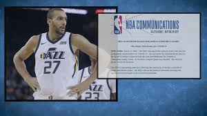 NBA suspends season after Jazz's Rudy ...