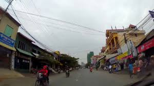 Crazy 168 degrees View on streets of Tuol Kork, Mekong River, Chea Sopha ...