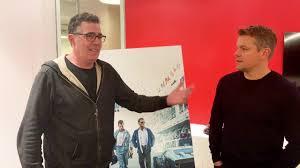Adam Carolla and Matt Damon Private Conversation - YouTube