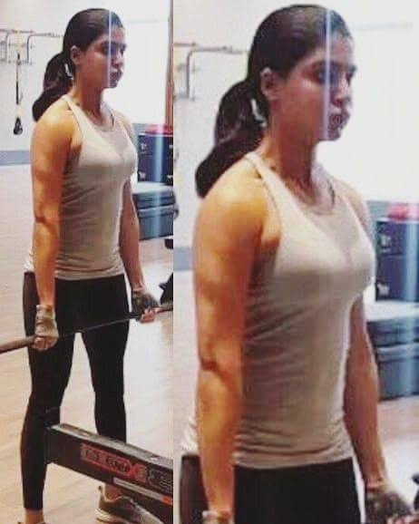 Image result for samantha hot gym""