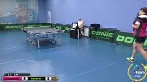 Open table tennis tournament TT-Cup. Video - Svidnycka Nataliya vs Ivanova  Nataliya