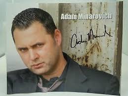 SIGNED ADAM MINAROVICH 8x10g Ed Peletier Walking Dead autograph ...