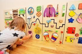 Sensory Board Kids Room Decor Montessori Developing Panel Image 1 Informations About Sensory Board Kids Roo In 2020 Montessori Furniture Montessori Toddler Busy Board