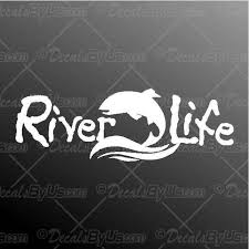 Find Great Deals On River Life Fish Car Truck Decals