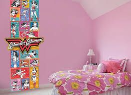 Wonder Woman Rainbow Wall Decal