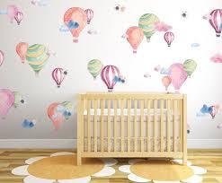 Harriet Bee Hot Air Balloons Wall Decal Reviews Wayfair