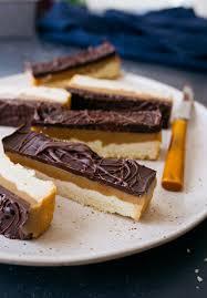chocolate caramel cookie bars small