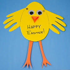 How to Make an Easter Chick Card - Easter and Spring Crafts - Aunt ...