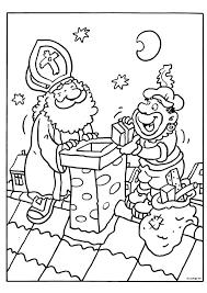 Kleurplaat Sinterklaas 1 Kleuteridee Sinterklaas Kleurplaten