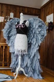 diy angel wings has