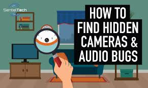 how to find hidden cameras and spy bugs