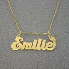 junior size solid 14k gold personalized