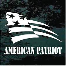 American Patriot Car Window Decals Stickers Decal Junky
