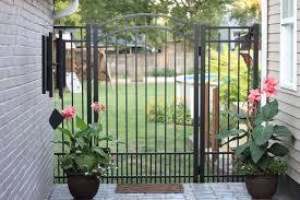 Single Panel Aluminum Gates Great Fence