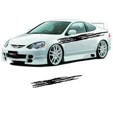 Tuning Simple Scratches Auto Decal Decorative Car Body Stickers