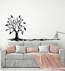 Vinyl Wall Decal Tree Living Room Decor Drawing Art Cartoon Stickers M Wallstickers4you