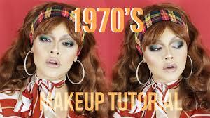 1970 s inspired makeup tutorial