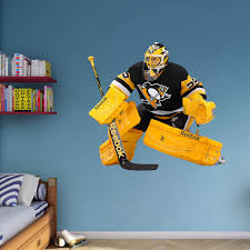 Fathead Nhl Pittsburgh Penguins Marc Andre Fleury Goalie Wall Decal Walmart Com Walmart Com
