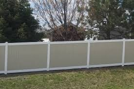 Vinyl Fence Gallery Privacy Picket And Rail