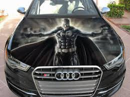 Vinyl Car Hood Wrap Full Color Graphics Decal Batman Gotham Dark Knight Sticker Ebay
