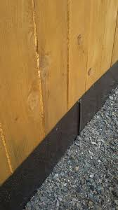 Sheet Metal Along Bottom Of Fence Buried Into Ground For Digging Dogs Fence Landscaping Dog Backyard Dog Fence