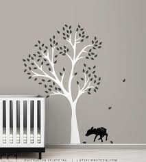 Kids Wall Decal Decal Baby Deer By Leolittlelion On Etsy