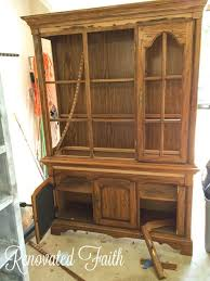 china cabinet makeover 7 steps to