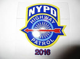 Nypd Pba Window Decal For Sale Holidays Net
