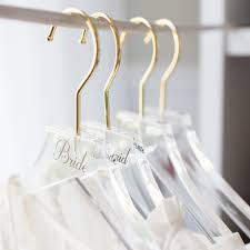 Simple Acrylic Personalized Hangers Z Create Design