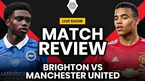 United With Late Late Win! | Brighton 2-3 Manchester United | Stretford  Paddock Review - YouTube