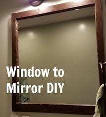 how to make a farmhouse mirror from a