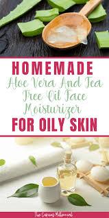 diy aloe vera gel and tea tree oil