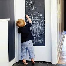 Chalk Board Blackboard Stickers Removable Vinyl Draw Decor Mural Decals Art Chalkboard Wall Sticker Kids Rooms Office Bedroom Wall Sticker Kids Room Chalk Boarddecoration Murale Aliexpress