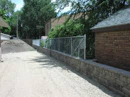 Fence On Top Of Retaining Wall Fine Homebuilding