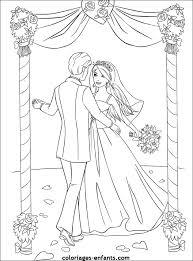Gratis Kleurplaten Bruidspaar En Huwelijk Hobby Blogo Nl