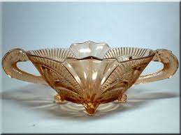 brockwitz art deco glass identification