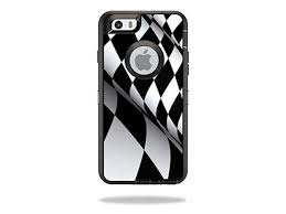 Mightyskins Protective Vinyl Skin Decal Cover For Otterbox Defender Iphone 6 6s Case Cover Sticker Skins Checkered Flag Newegg Com