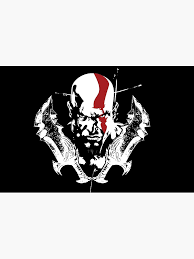 Kratos God Of War Laptop Skin By Dinshoran Redbubble